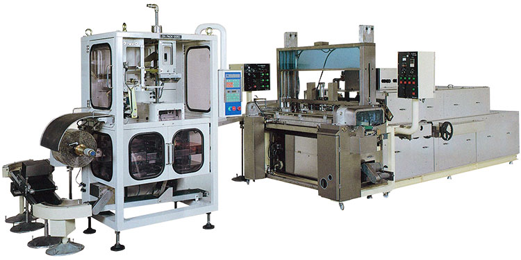 Filling konjac gusset packaging system