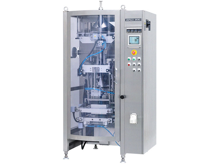 Vertical pillow pouch filling and packaging machine (VFFS)